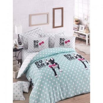 Подростковое постельное белье Eponj Home - Boston Mint