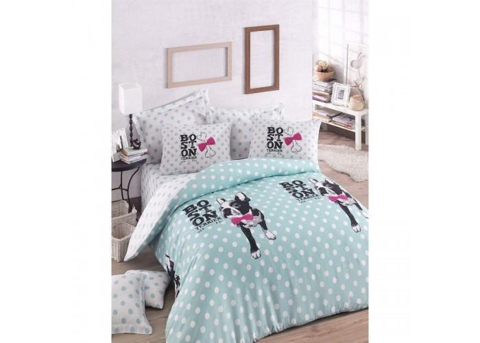 Подростковое постельное белье Eponj Home - Boston Mint  1