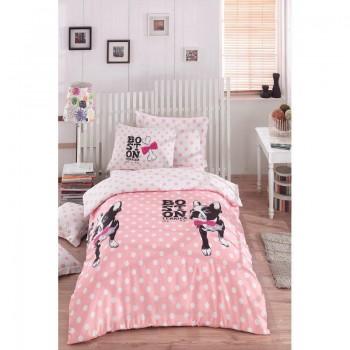 Подростковое постельное белье Eponj Home - Boston Pembe