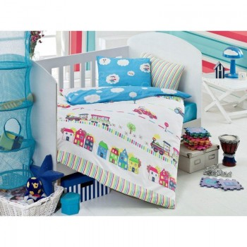 Постельное белье для младенцев Eponj Home - Tren Mavi