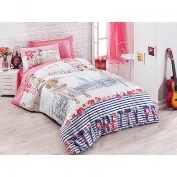 Подростковое постельное белье Eponj Home - Pretty Pembe