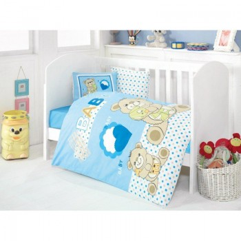 Постельное белье для младенцев Eponj Home - Yumos Mavi