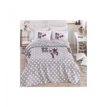 Подростковое постельное белье Eponj Home Pike - Boston gri