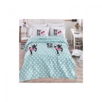 Подростковое постельное белье Eponj Home Pike - Boston mint