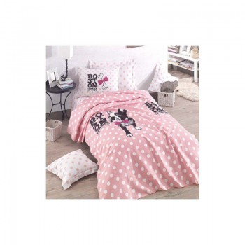Подростковое постельное белье Eponj Home Pike - Boston pembe