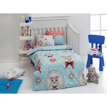 Постельное белье для младенцев Eponj Home - Baykus A.mavi