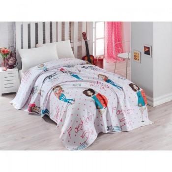 Подростковое постельное белье Eponj Home Pike - FashionGirl Pembe