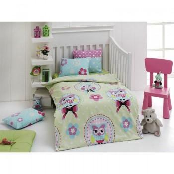 Постельное белье для младенцев Eponj Home - Baykus Yesil