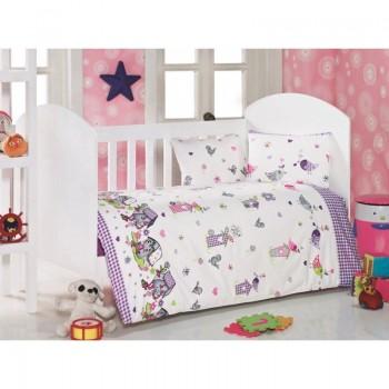 Постельное белье для младенцев Eponj Home - Kuslar Lila