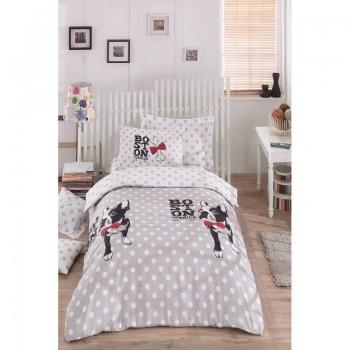 Подростковое постельное белье Eponj Home - Boston Gri