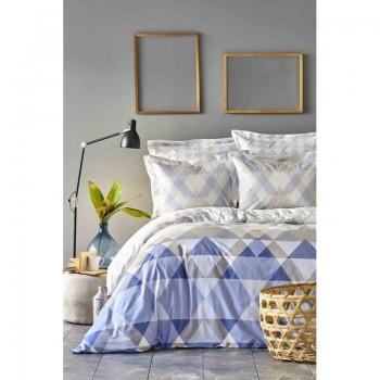 Комплект постельного белья Karaca Home - Astin lila 2019-1 лиловый евро