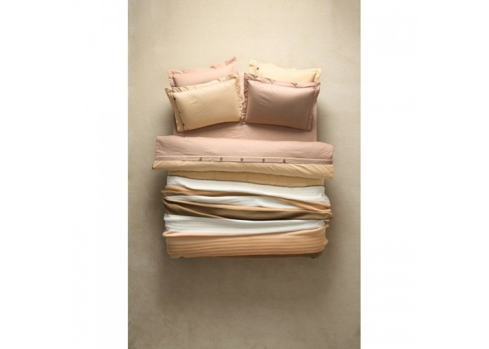 Комплект постельного белья Karaca Home - Solid yavruagzi полуторное  1