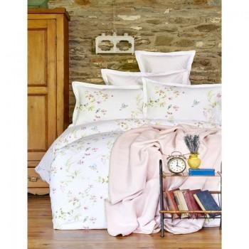 Комплект постельного белья Karaca Home - Laticia pembe 2018-1 розовый евро