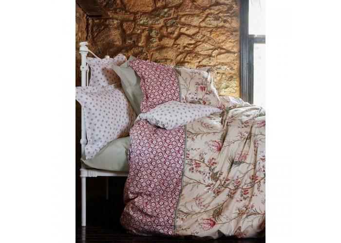 Комплект постельного белья Karaca Home - Mitha kirmizi 2016 красный евро  1