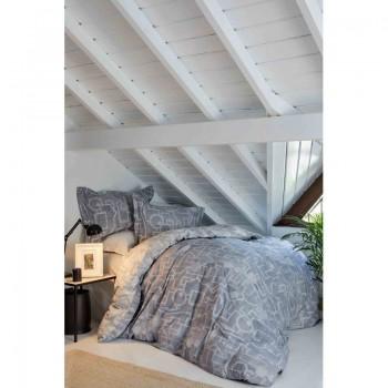 Комплект постельного белья Karaca Home - Alto gri 2019-1 серый евро