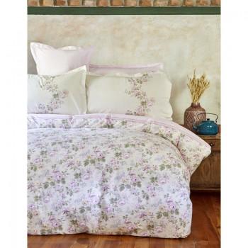 Комплект постельного белья Karaca Home - Shale lila 2018-1 лиловый евро
