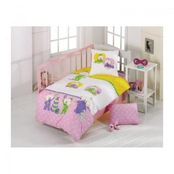Постельное белье для младенцев Kristal - Bebis розовый