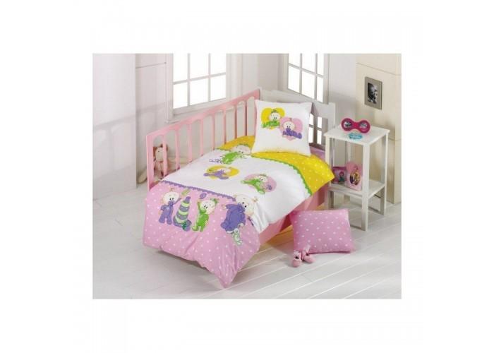 Постельное белье для младенцев Kristal - Bebis розовый  1