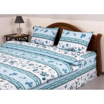 Комплект постельного белья Lotus Ranforce - Delmare лиловый семейное