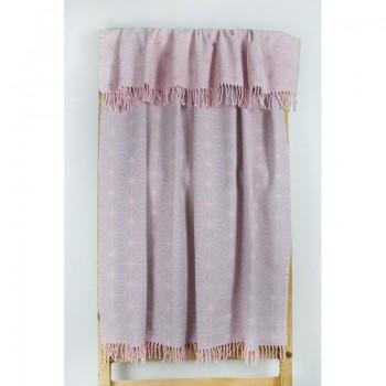Плед Lotus Mono - Like розовый 135*175