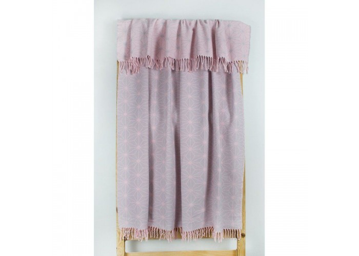 Плед Lotus Mono - Like розовый 135*175  1
