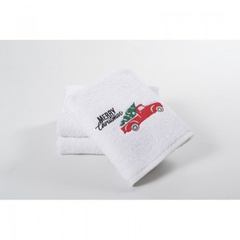 Новогоднее полотенце Lotus 50*90 - Christmas Van