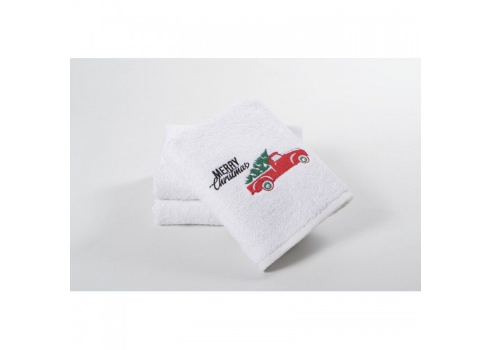 Новогоднее полотенце Lotus 50*90 - Christmas Van  1