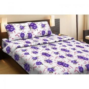 Комплект постельного белья Lotus Life Collection - Agnes фиолетовый двуспальное