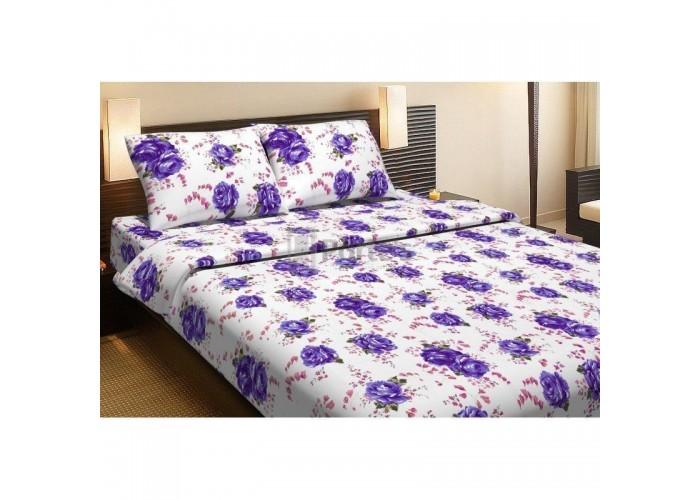 Комплект постельного белья Lotus Life Collection - Agnes фиолетовый двуспальное  1