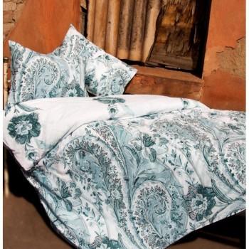 Комплект постельного белья Lotus Premium - Madeleine кофе семейное
