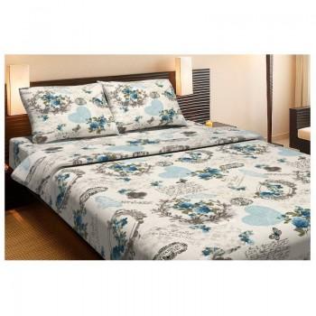 Комплект постельного белья Lotus Ranforce - Boulevard бирюзовый евро