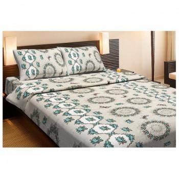 Комплект постельного белья Lotus Ranforce - Pamela зеленый полуторное