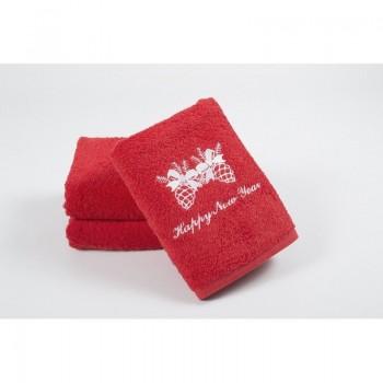Новогоднее полотенце Lotus 50*90 - Happy New Year