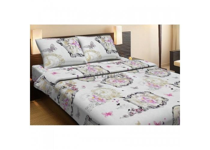 Комплект постельного белья Lotus Life Collection - Ameli бежевое Евро  1