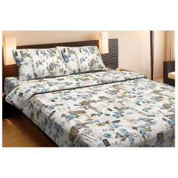 Комплект постельного белья Lotus Ranforce - Juliana бирюзовый двуспальное