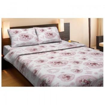 Комплект постельного белья Lotus Ranforce - Patsy розовый двухспальное
