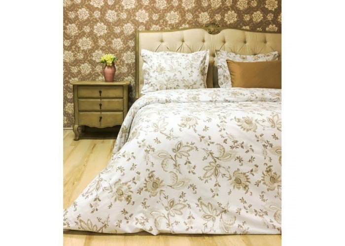 Комплект постельного белья Lotus Premium - Vivien евро  1