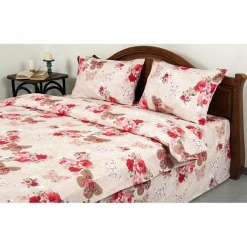 Комплект постельного белья Lotus Ranforce - Mon-amie розовый двуспальное