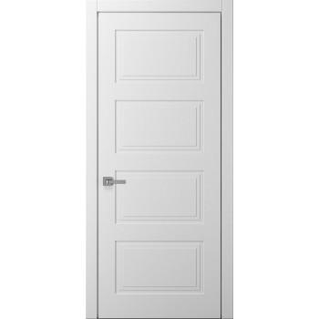 Коллекция Style – мод. Sonata покраска RAL 9003 (белая), RAL 1013 (кремовая) алюминиевый торец