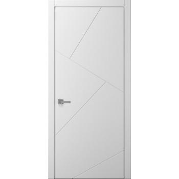 Коллекция Style – мод. Rumba покраска RAL 9003 (белая), RAL 1013 (кремовая) алюминиевый торец