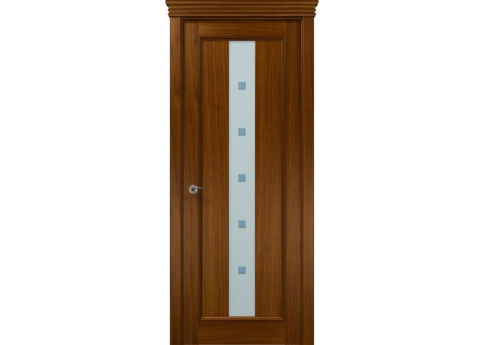 Двери Папа Карло CLASSIC Vitra (деклареты) (аналог PR-06 д) (Сатиновое стекло с гравировкой)  1