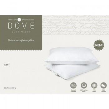 Классическая подушка Penelope Dove пуховая 70% пух 50*70