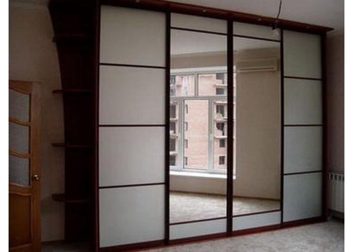 Шкаф-купе с зеркальными дверями под заказ 9  1