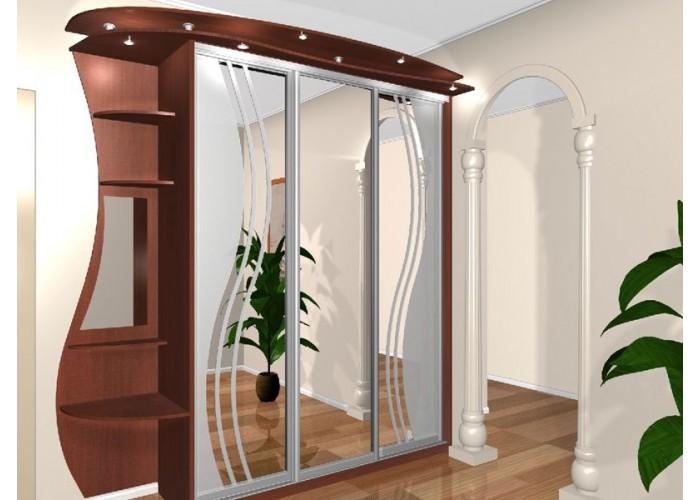 Шкаф-купе с зеркальными дверями под заказ 20  1