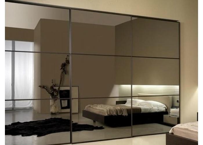 Шкаф-купе с зеркальными дверями под заказ 1  1