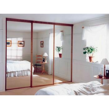 Шкаф-купе с зеркальными дверями под заказ 2