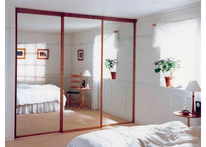 Шкаф-купе с зеркальными дверями под заказ 2  1