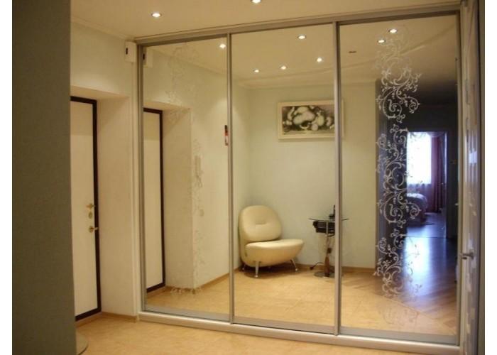 Шкаф-купе с зеркальными дверями под заказ 4  1