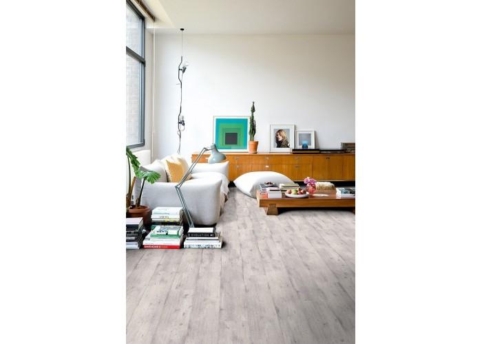 Ламинат Quick-Step светло-серый бетон  1