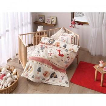 Постельное белье для младенцев Tac Disney - Snow kirmizi красный